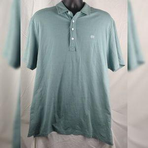 Travis Mathew Polo Shirt XL Cotton Blend